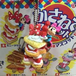降價⬇️絕版迪士尼疊疊樂食玩吊飾(米妮鬆餅