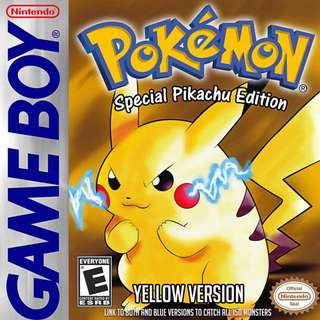 Looking For Authentic Pokemon Yellow Game