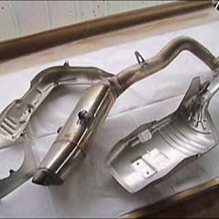 CBR 600 Exhaust Pipe