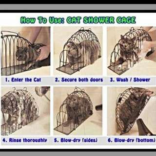 Cat Bathe Cage FREE DELIVERY