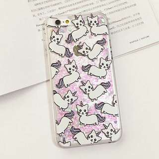 INSTOCK BNIP Fairy Dust Unicorn Cat Phone Case