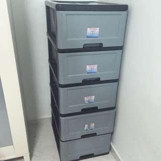 Used 5 tier toyogo cabinet