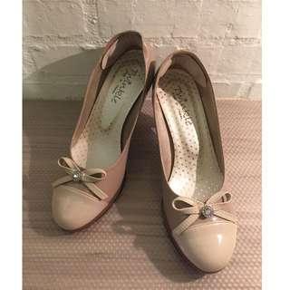 裸色 裸粉色 高跟鞋 全新 37號