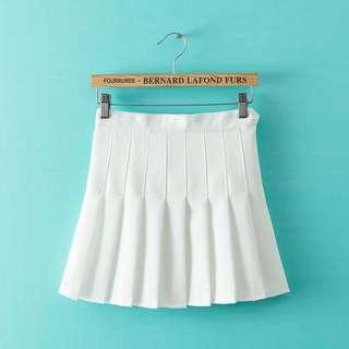 🎀白色百褶裙