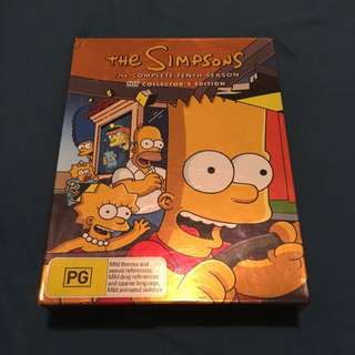 The Simpsons Collector's Edition DVDs