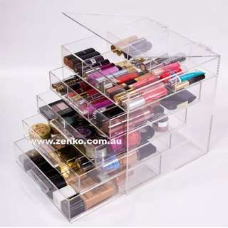 5 Draw Acrylic Makeup Organizer And draw Separators