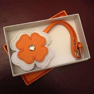 Folli Follie 花朵皮帶吊飾時計/手錶/時鐘 #前男友市集