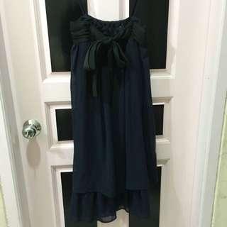 ZARA Chiffon Dress