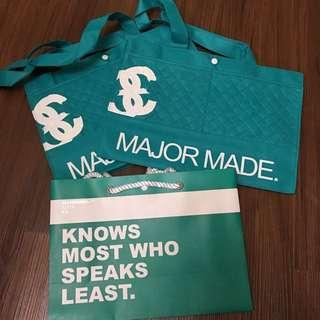 Major 購物袋 全新