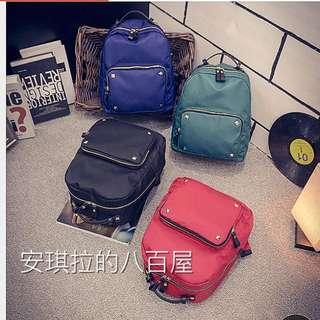 後背包🎒新貨預購~韓版尼龍防水媽媽包雙肩包休閒旅行書包