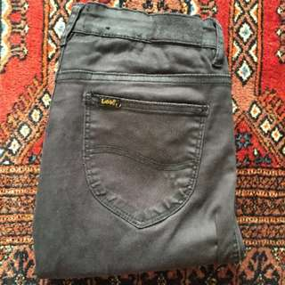 LEE high licks jeans in lux black