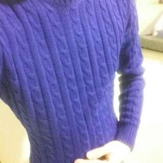 針織花藤編毛衣