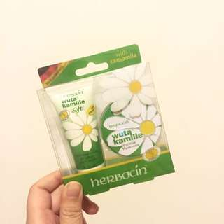 Herbacin 小甘菊經典護手霜組合