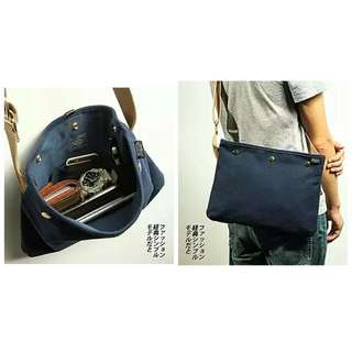 Porter Head Design Sling Bag