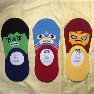 復仇者聯盟隱形襪/共八款