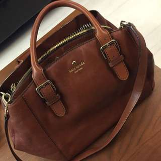 (Reserve ) Authenticate Kate Spade Brown Bag