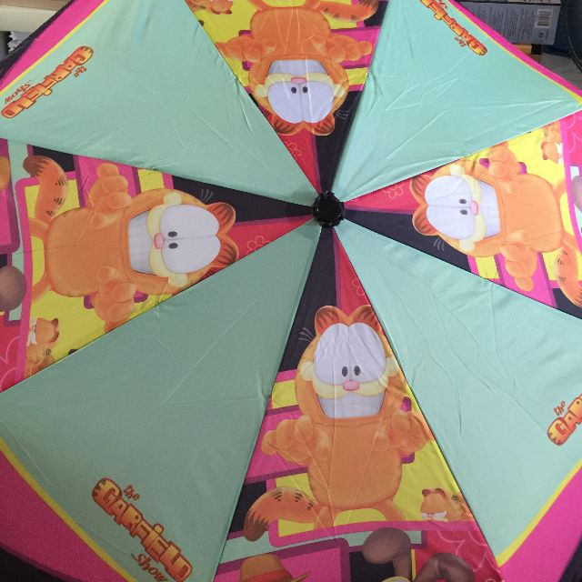 2 In 1 Garfield Umbrella And Bag From Jurong Point Women S Fashion Accessories On Carousell