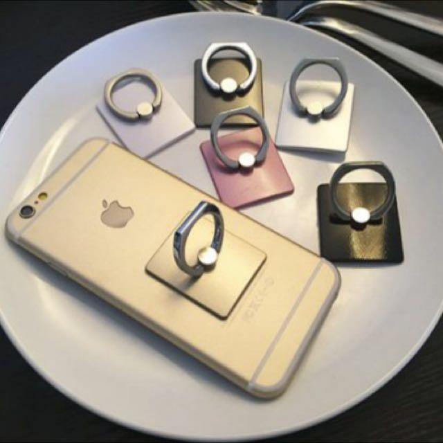 ✨(限時含運)手機扣環金色