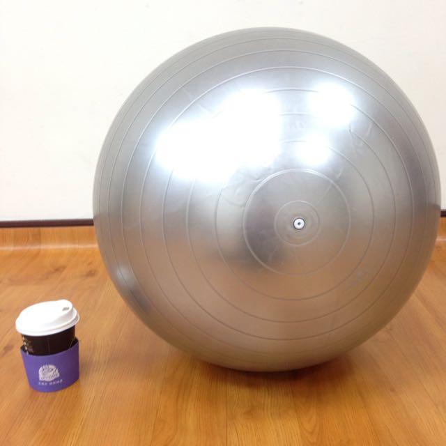 瑜珈球+附充氣筒