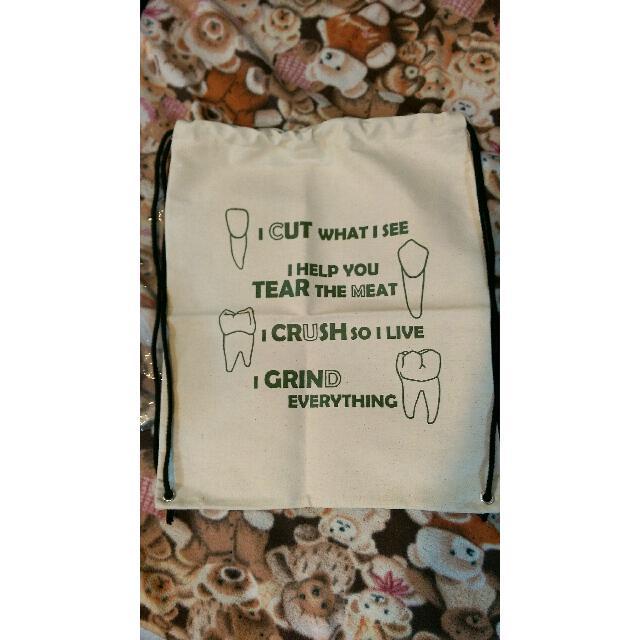 💟含運💟白色束口帆布袋