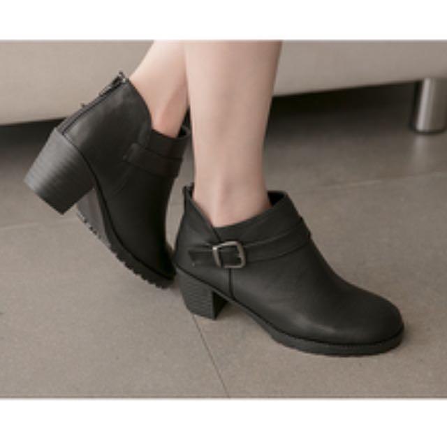 (二手)短靴 黑色