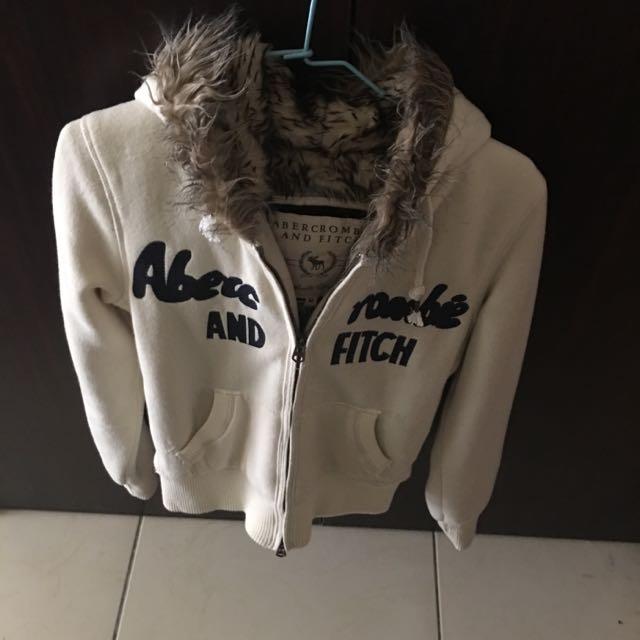 A&F鋪毛外套 可議