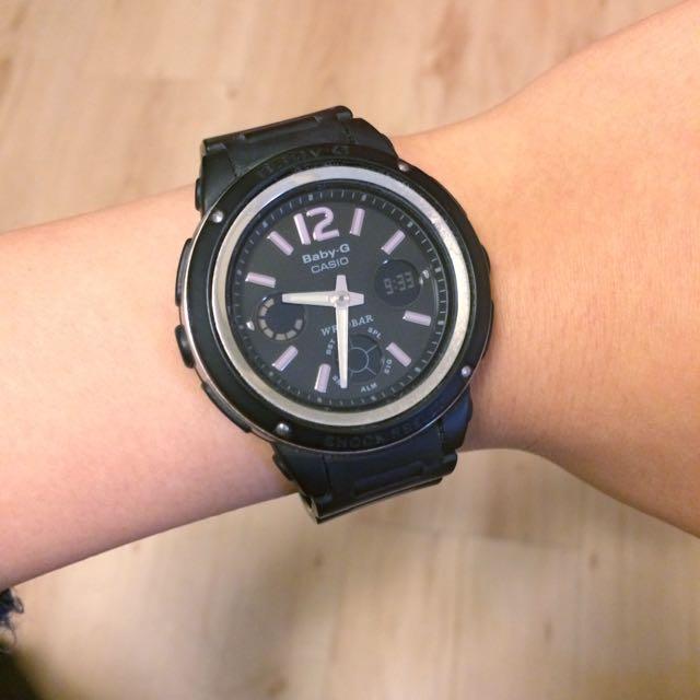 Baby G 黑色手錶