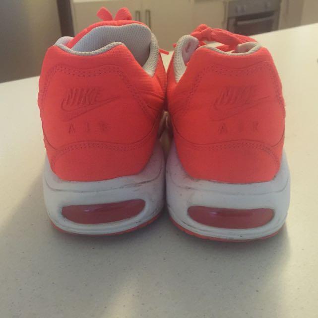 Bright  Orange Nike Airs