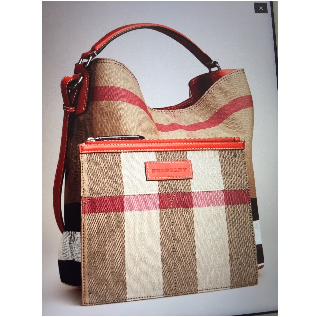 d3347d6880a1 Burberry - The Medium Ashby in Canvas Check and Leather