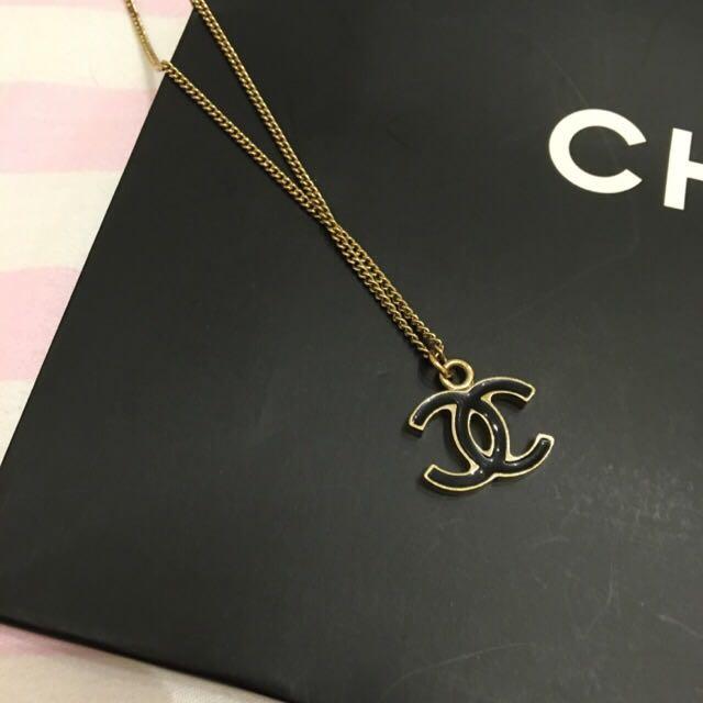 Chanel Logo 絕版經典款 項鍊