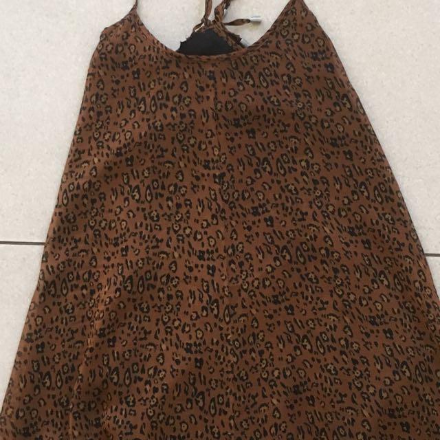 Don't Ask Amanda leopard print dress