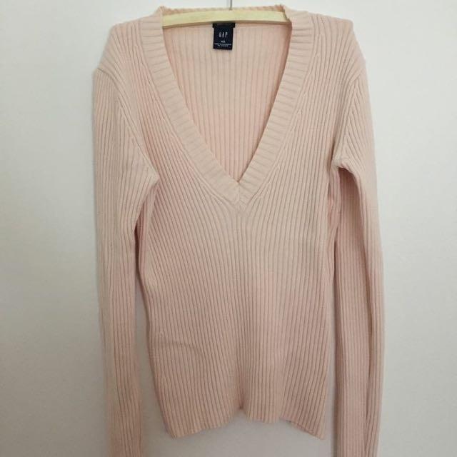 GAP Light Pink Long Sleeve