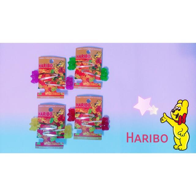 🇯🇵小熊軟糖 gummy bear 髮夾🍭
