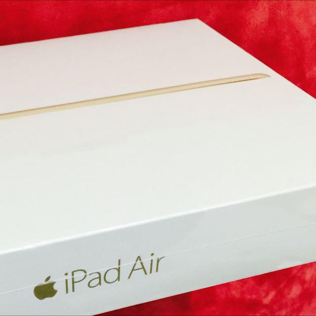 (全新包裝未拆)金色iPad air2 wi-fi版 16G