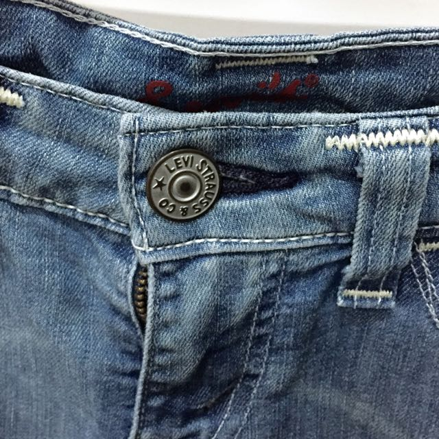 (sold)Levis 七分牛仔褲 25腰