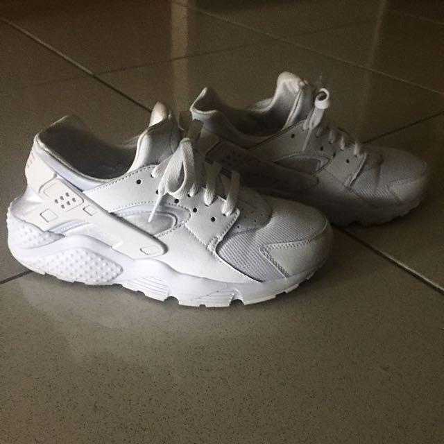 Nike 全白 白武士