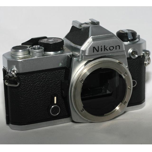 Nikon FM SLR camera