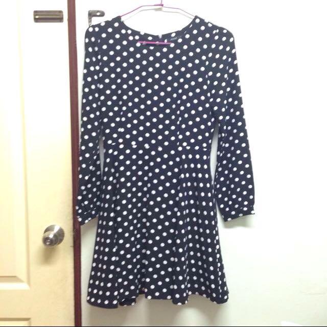 💓特價💓Pazzo復古長袖點點洋裝 連身裙 森林系 S號