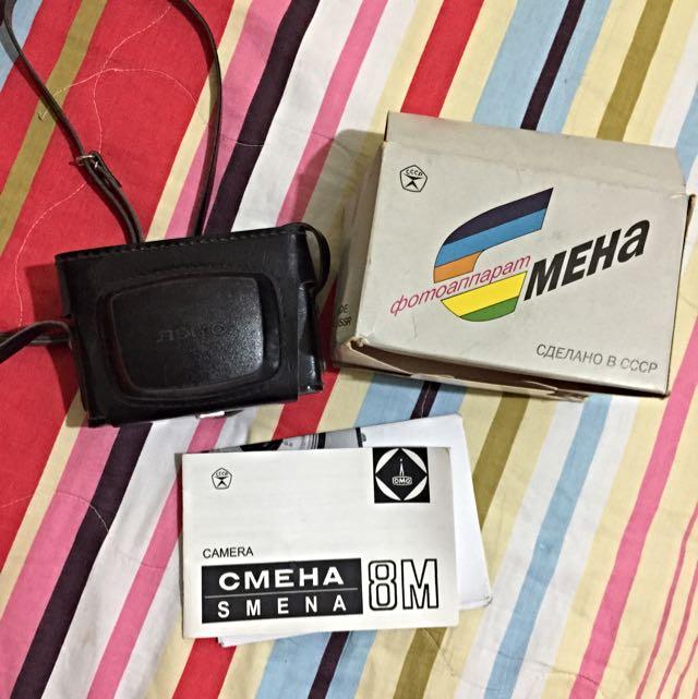 Smena 8m底片相機 送過期底片 含運