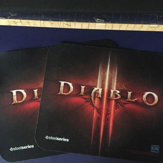 Steelseries QCk Mini Diablo III Logo Edition Mousepad
