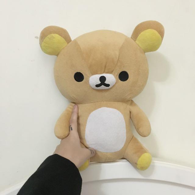 🐻拉拉熊tea Bear娃娃玩偶