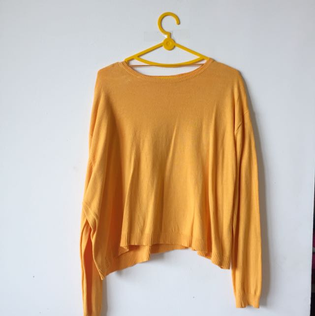 Zara Knit In Yellow
