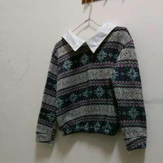 【含運】圖騰氣質毛衣