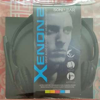 *NEW* SONIC GEAR XENON 2 HEADPHONE WITH MIC