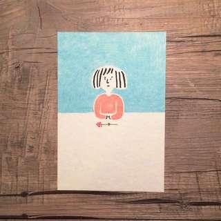 日本postcard