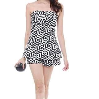 Mds One Piece Romper.       Chanel Hermes Prada Gucci Asos Miumiu Celine Zara Rolex Hoh House Of Hello Mango The Editors Market