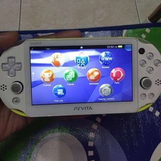 PS Vita 2k lime green