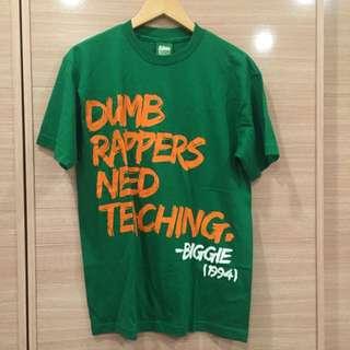 🔸二手🔹MightyHealthy 男綠色橘字短袖T恤 上衣 尺寸M