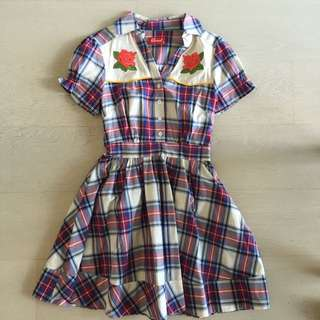 Revival Western Style Cotton Dress