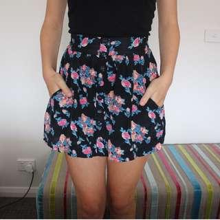 Element Floral Skirt